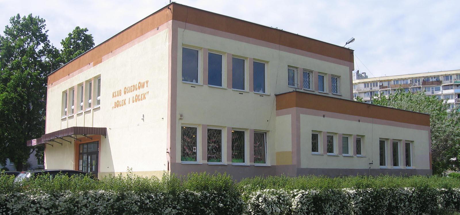 klub osiedlowy Bolek i Lolek